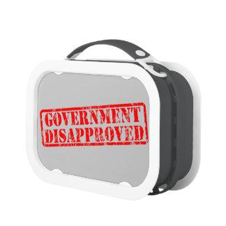 El gobierno desaprobó