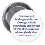 El gobierno es la gran ficción pin