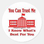 El gobierno federal dice me confía en etiqueta