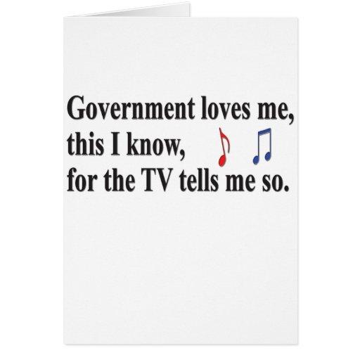 El gobierno me ama felicitacion