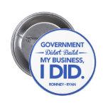 El gobierno no construyó mi negocio (la frontera a pins