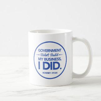El gobierno no construyó mi negocio (la frontera taza