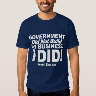 El gobierno no construyó mi negocio playeras