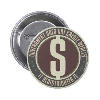 El gobierno no crea riqueza pins