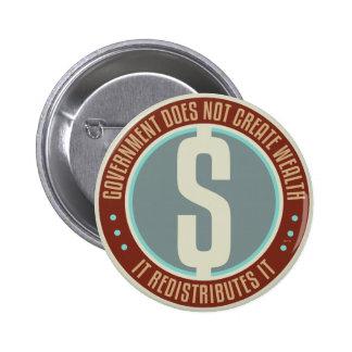 El gobierno no crea riqueza pin