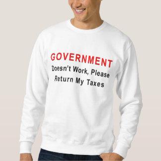El gobierno no trabaja sudaderas encapuchadas