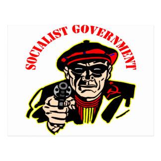 El gobierno socialista es ladrón del ladrón postales