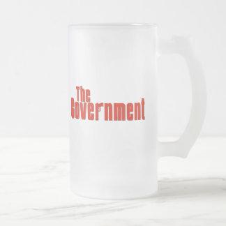 El gobierno tazas