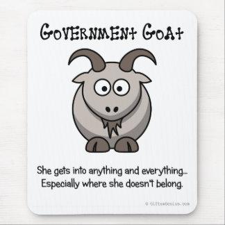 El gobierno va a adonde no pertenece tapetes de ratón
