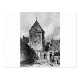 El Goilberdingenpoort en Culemborg Su Postal