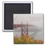 El Golden Gate San Francisco Iman De Frigorífico
