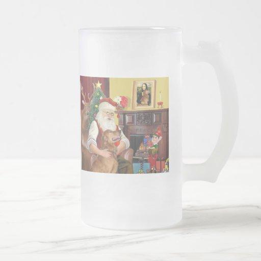El golden retriever de Santa (#12) Tazas