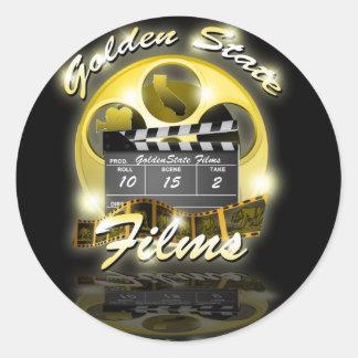 El Golden State filma al pegatina
