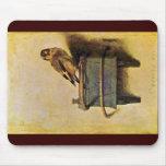 El Goldfinch., Puttertje de Carel Fabritius Tapetes De Ratón