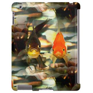 El Goldfish de lujo hace frente a imagen de la Funda Para iPad