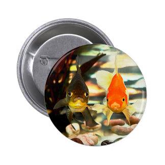 El Goldfish de lujo hace frente a imagen de la Chapa Redonda 5 Cm