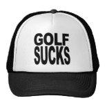 El golf chupa gorras
