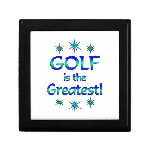 El golf es el más grande cajas de joyas