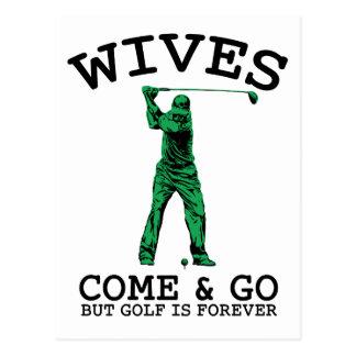 El golf es Forever Postal