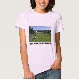 El golf es mi estado de ánimo natural (el campo de playeras