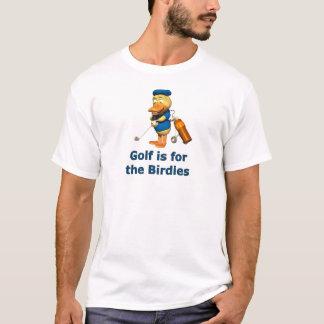 El golf está para los chirridos playera