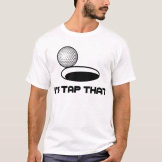 El golf I golpearía ligeramente eso Playera