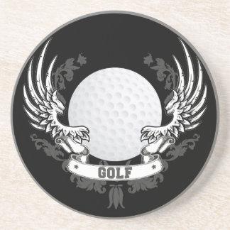 El golf se va volando el práctico de costa posavasos cerveza