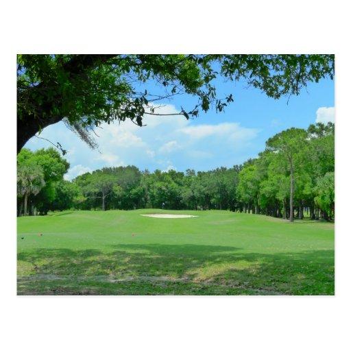 El Golfing es grande Tarjeta Postal