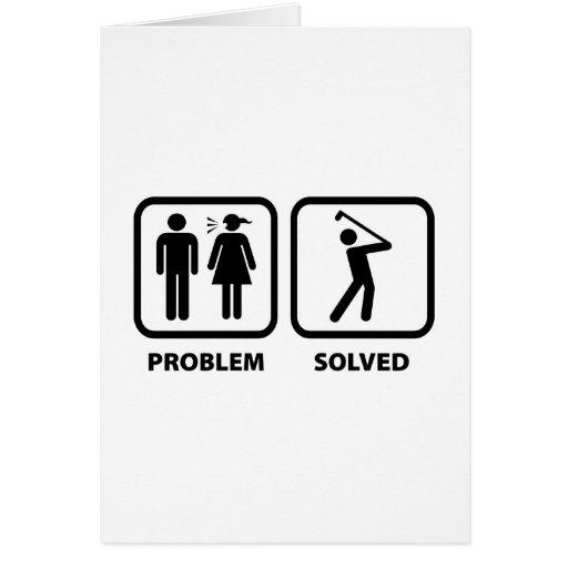 El Golfing solucionado problema Tarjetas