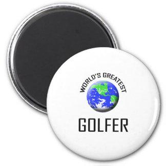 El golfista más grande del mundo imanes