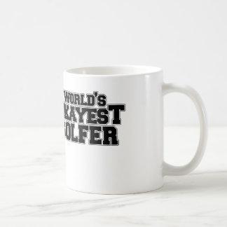 El golfista más okayest del mundo taza de café