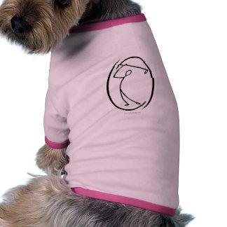 El golfista… camisas de perritos