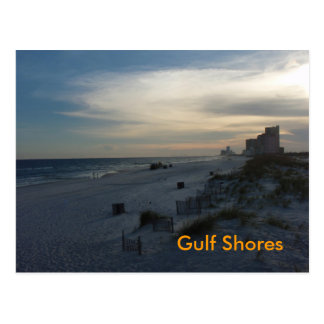 el golfo apuntala la postal