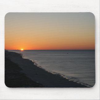 El golfo apuntala salida del sol alfombrillas de ratón