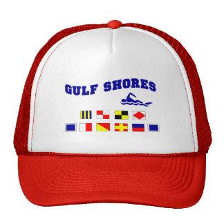 El golfo de Alabama apuntala 2 Gorras