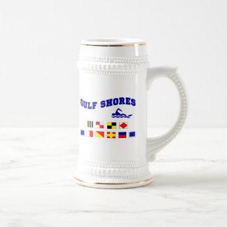 El golfo de Alabama apuntala 2 Taza De Café