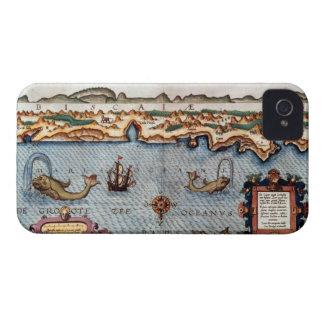 El Golfo de Biscaya 1586 Case-Mate iPhone 4 Protectores
