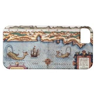 El Golfo de Biscaya 1586 iPhone 5 Fundas