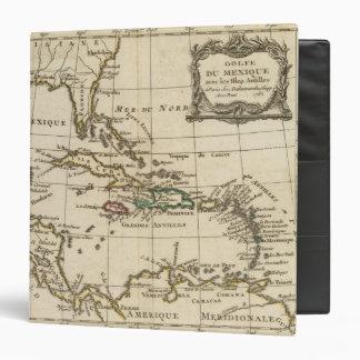 """El Golfo de México, islas del Caribe Carpeta 1 1/2"""""""