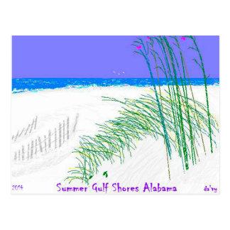 El golfo del verano apuntala Alabama 2014 cerca: Tarjeta Postal