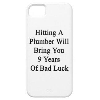 El golpe de un fontanero le traerá 9 años de mún funda para iPhone 5 barely there