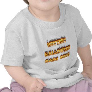 El golpe más caliente 2009 de Halloween Camisetas