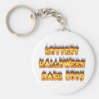 El golpe más caliente 2009 de Halloween Llaveros