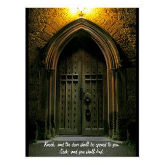 El golpe y la puerta serán abiertos (1) postal