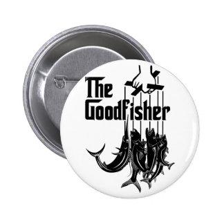 El Goodfisher #2 Pin Redondo De 2 Pulgadas