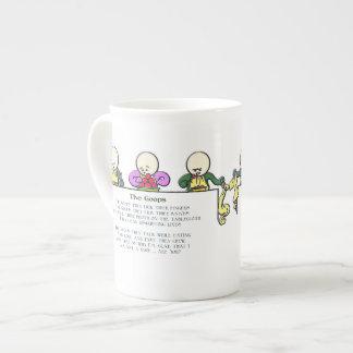 El Goops Taza De Porcelana