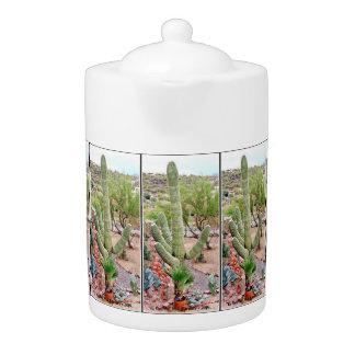 """El Gordo"" Giant Saguaro - Tea Pot"
