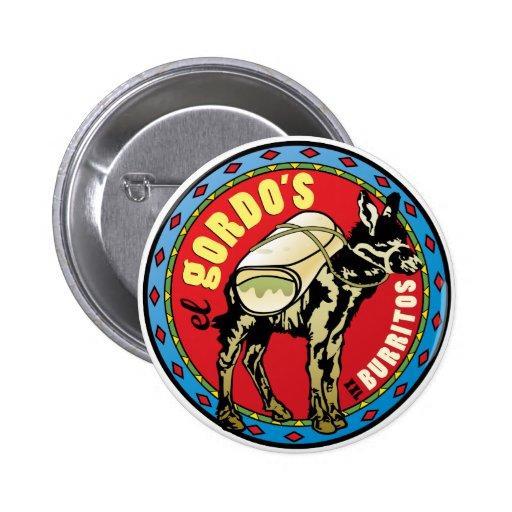 El Gordo's XXL Burritos - Mexican Food Pins