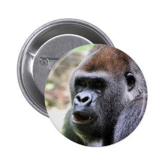 El gorila dice pin redondo de 2 pulgadas