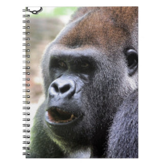 El gorila dice spiral notebook
